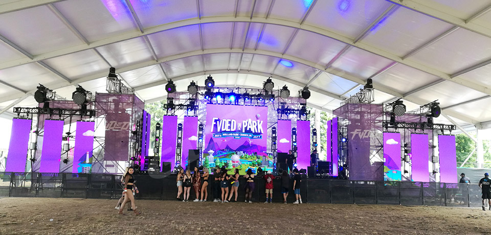 "Canadian Project ""FVDED in the park"""